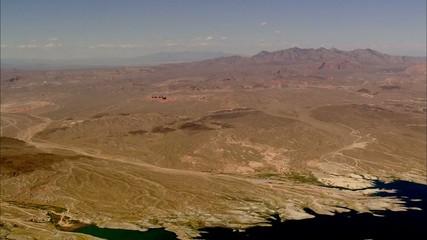 Desert River Mountains
