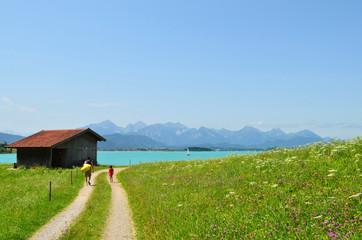 Sommer am See im Allgäu