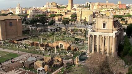 Church San Lorenzo in Miranda at the Roman Forum, Rome