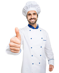 Chef showing ok sign