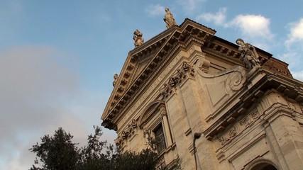 Church of Santa Francesca Romana at the Roman Forum.