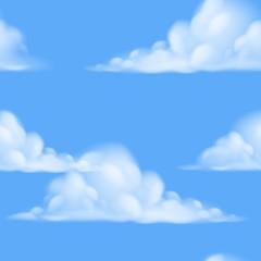 Seamless sky background