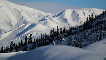 Alaskan Hills Snow