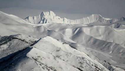 Mountain Ranges Snow Alaska