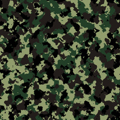 Simulate Thai Infantry Camouflage Pattern Background