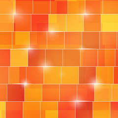 abstract colored square 3d cubes background