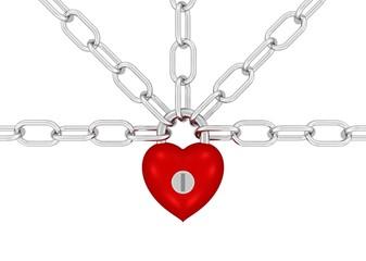 starkes Herz hält alles zusammen