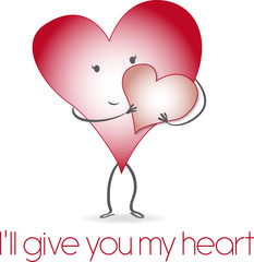 I´ll give you my heart