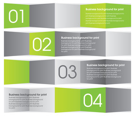 Modern green and gray design. Business background