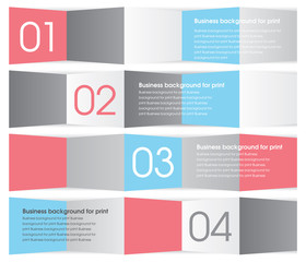 Modern red, blue and gray design. Business background