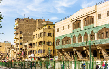 Street in the Islamic district of Cairo - Egypt