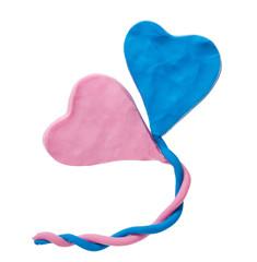 Plasticine heart