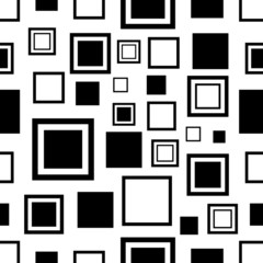 Abstract rectangles seamless pattern