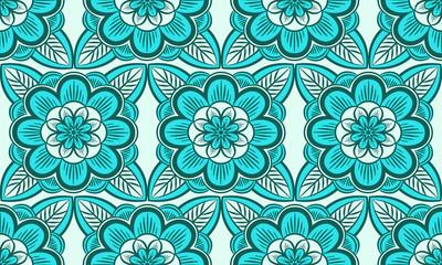 Floral ornament, vector illustration