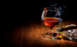 Cognac and cigar - 76744842