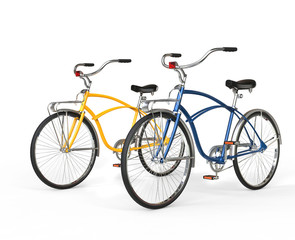 Two Beautiful Vintage Bicycles