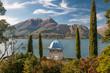 Leinwanddruck Bild - Bellagio e il lago di Como