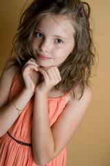 портрет 8 летней девочки