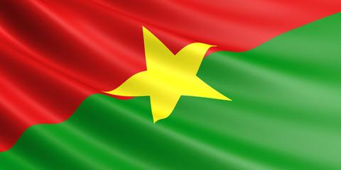 Burkina Faso flag.