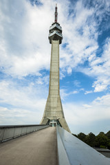 TV tower in Belgrade, Serbia
