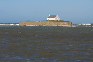 St Cwyfan's, The Church in the Sea.