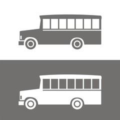 Icono bus school BN