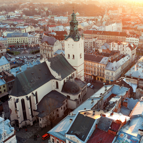 Lviv, Ukraine - 76749453