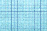 Blueish blank and grungy graph paper - 76751615