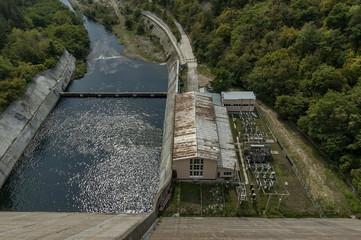 "Old  HPP ""Topolnitsa""  plant at Topolnitsa dam, Muhovo"