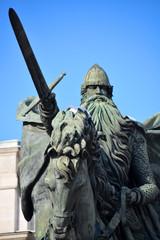 estatua de el cid campeador en burgos