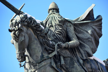 estatua de el cid campeador