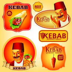 stickers kebab