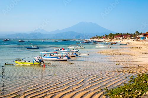 Foto op Plexiglas Indonesië Paradise beach at Nusa Lembongan, Indonesia