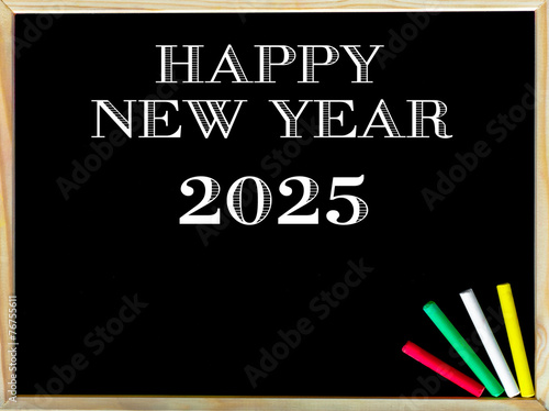 Poster Happy New Year 2025