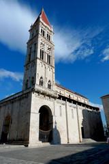 Trogir en croatie, cathédrale