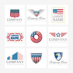 Vector logos - US