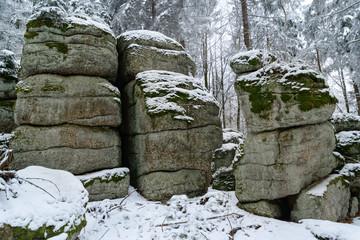 Weinberger Wald Felsformationen
