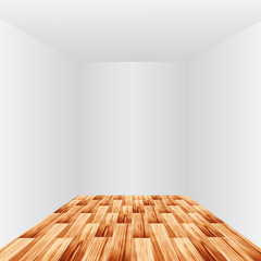 Room with light and wooden floor