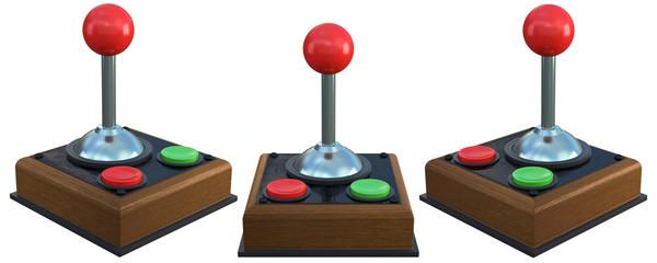 3d retro game controller