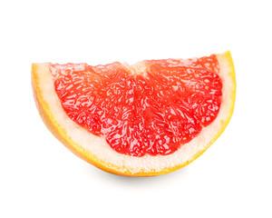 Fresh grapefruit slice
