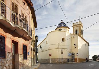 Church of St. Anthony in La Ermita. Province of Alicante. Spain