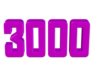 pembe renkli 3000