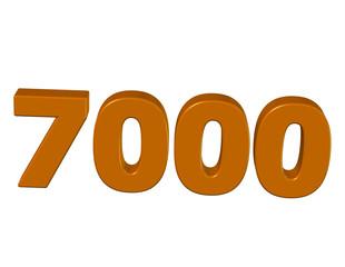 kahve renkli 7000
