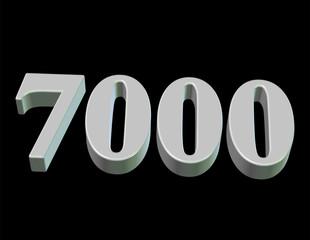 beyaz renkli 7000