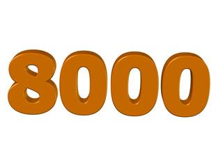 kahve renkli 8000