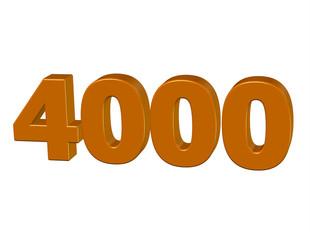 kahve renkli 4000