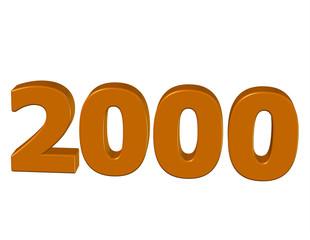 kahve renkli 2000
