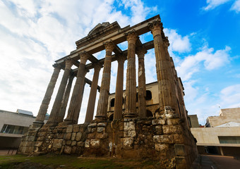 Temple of Diana. Merida, Spain