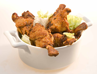 Grignottes de poulet