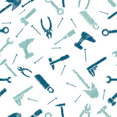 Seamless pattern scribble tools